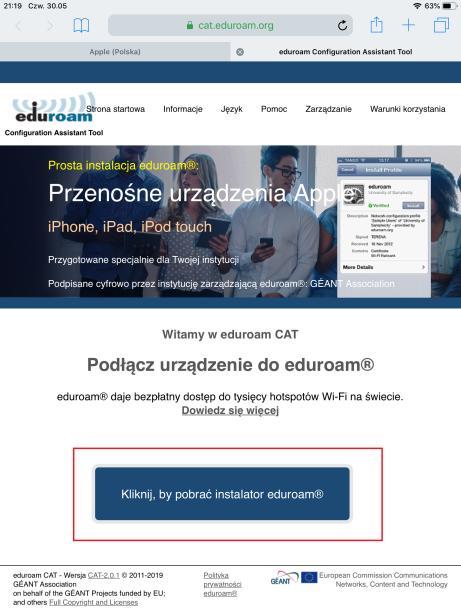 Podłącz aplikacje dla uczelni